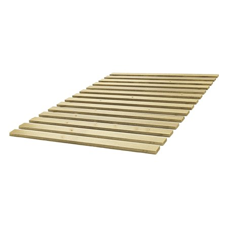 Classic Brands Attached Wood Bed Support Slats/Bunkie (Wood Slat)