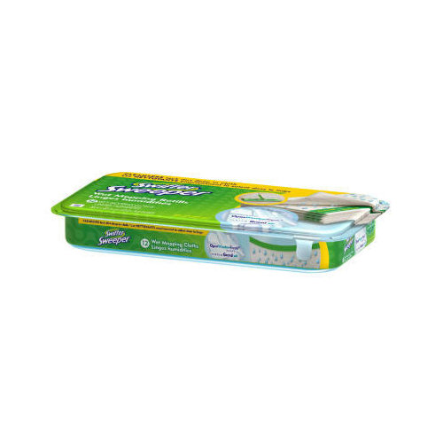 SWIFFER Wet Refill Cloth in White (Set of 12)