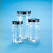 KIMBLE CHASE 5711670C-26 Round Bottle, 16 Oz, 145mm H, Foam , 48 Pk