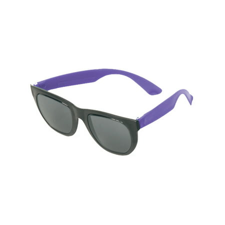 1 Pair Purple Tourist Rubber Sunglasses Party Favors 80s Costume Accessory - 80s Halloween Party Music