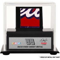 Dale Earnhardt Jr Display Case With Race-Used Sheet Metal - Fanatics Authentic Certified