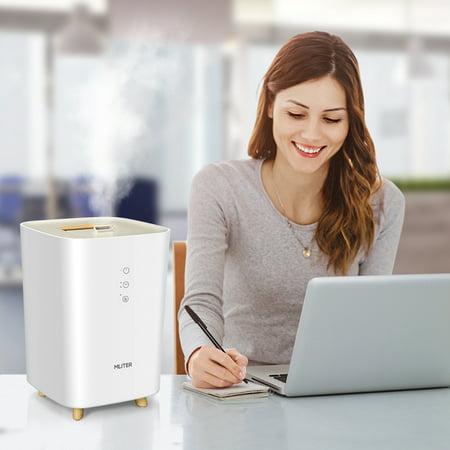 Mliter Cool Mist Humidifier Quiet Ultrasonic Humidifier for Bedroom Ho