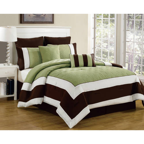 Spain 8 Piece Quilted Oversize/Overfilled Comforter Set by Duck River Textiles