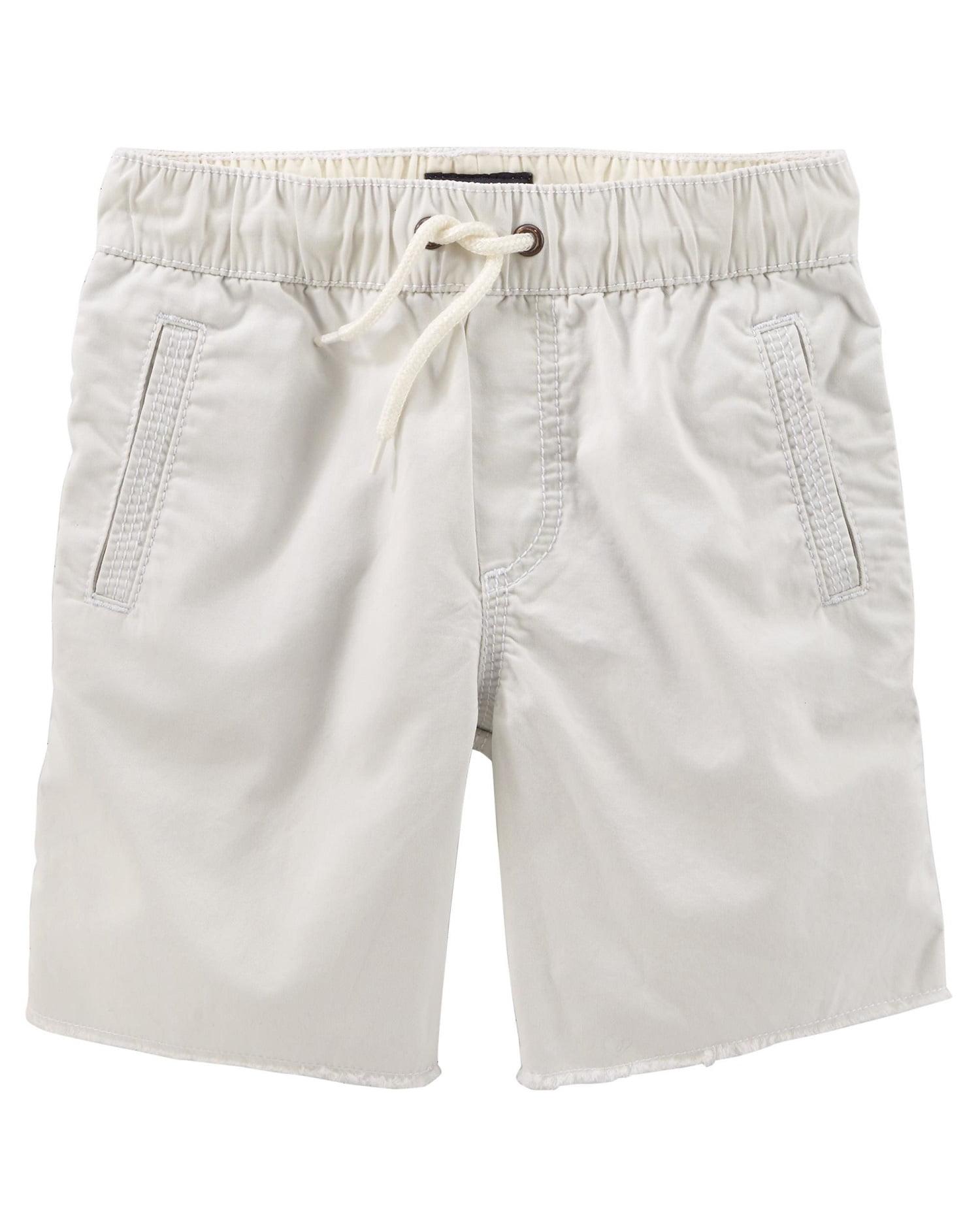 Khaki OshKosh Boys Pull-On Cargo Shorts