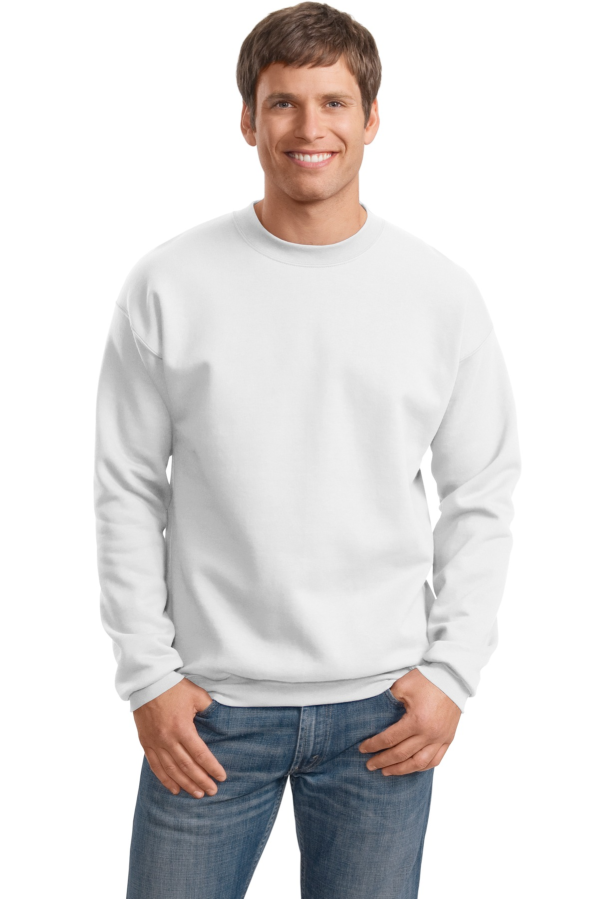 Hanes Men's Ultimate Cotton Heavyweight Fleece Sweatshirt ...