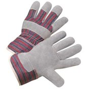 West Chester Glove Size L Leather Palm Gloves,400-SC