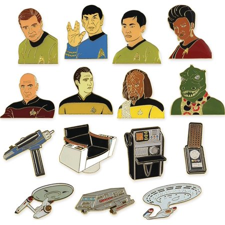 Star Trek Blind Packed Collectible Lapel Pin Random Case of 36 (2005 Lapel Pin)
