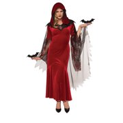 Womens Bat Mistress Vampire Costume size Standard 10-14