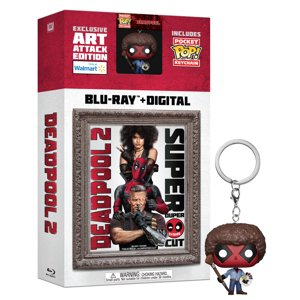 Deadpool 2 (Walmart Exclusive) (Blu-ray + Digital + Pocket Pop! Keychain)