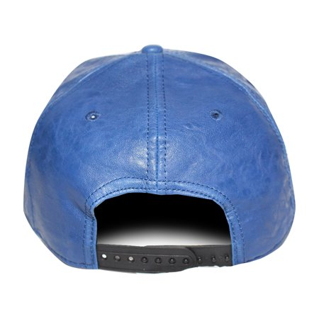 Bioworld Blue Licensed Superman PU Leather Snapback Hat - image 1 de 5