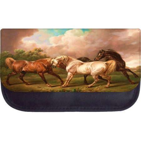 Nylon Painting Case (Artist Charles Towne's Three Horses in a Stormy Landscape Painting - 5