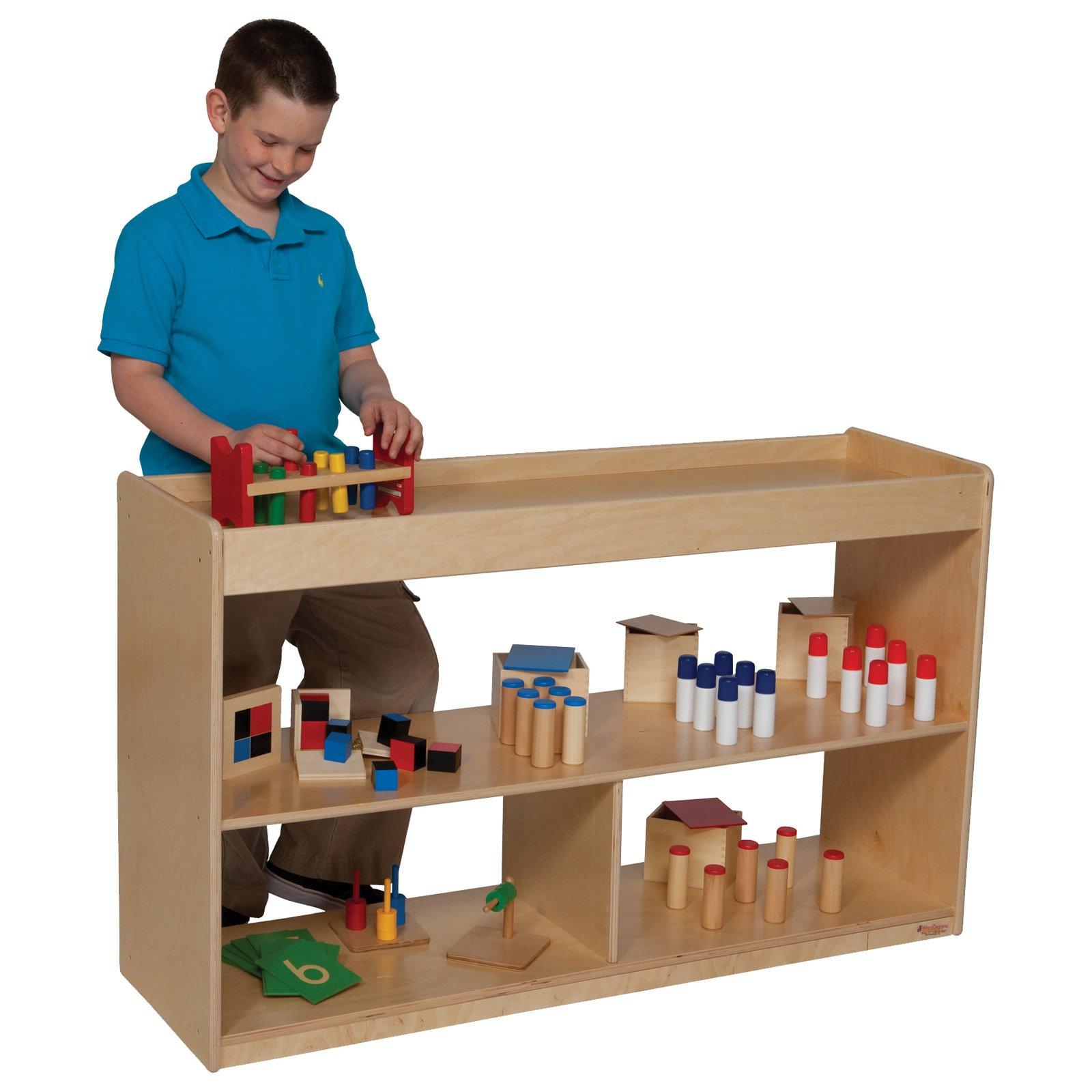 Wood Designs Math/Language Cabinet - 30H in.