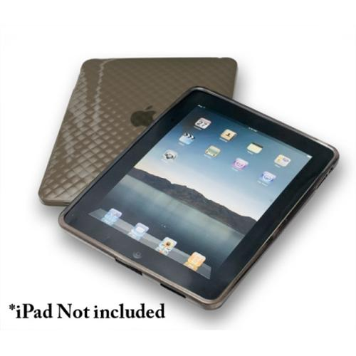 Connectland Anti-slip TPU Skin Case For Apple iPad 1st Generation Black