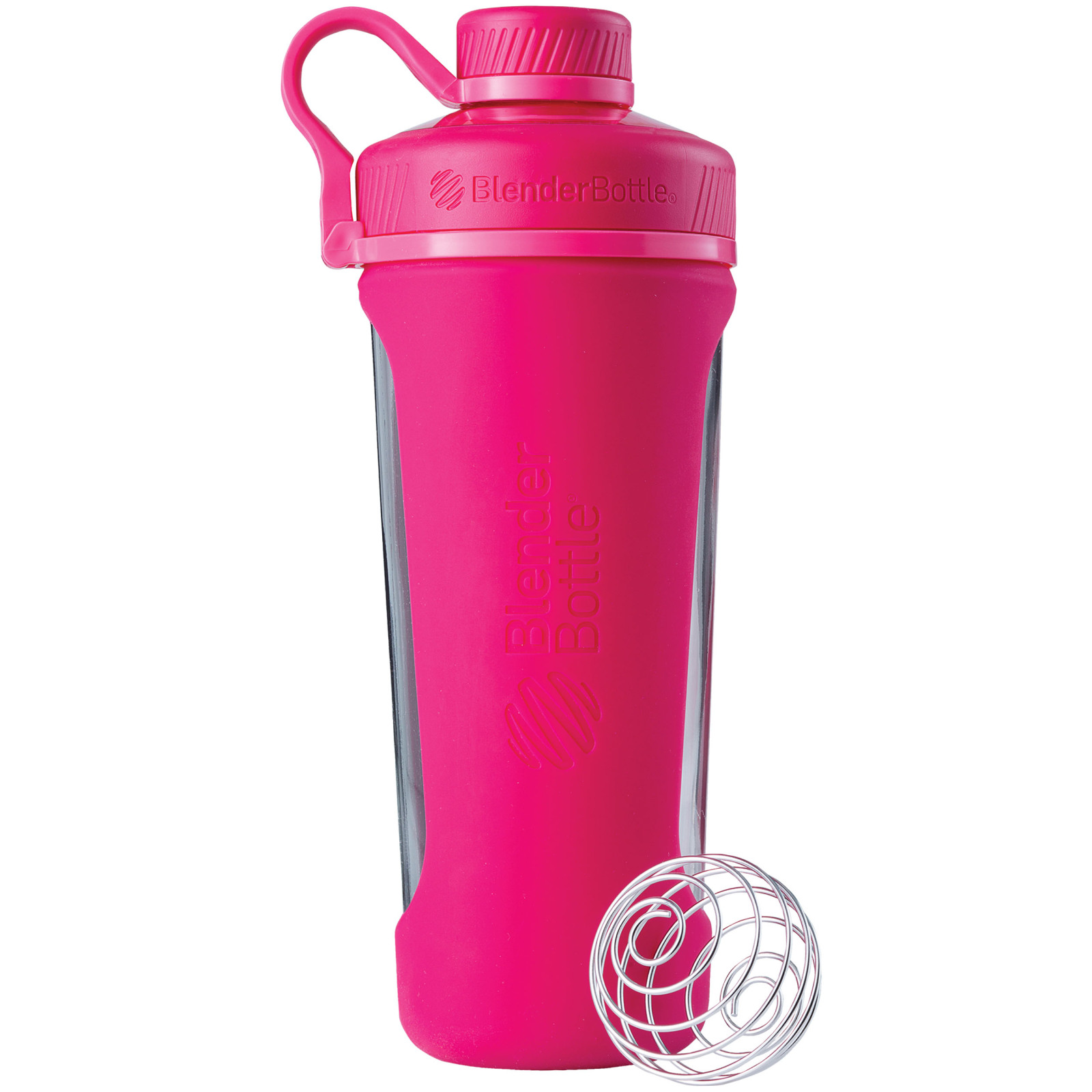 BlenderBottle 28oz Radian Glass Shaker Cup Black