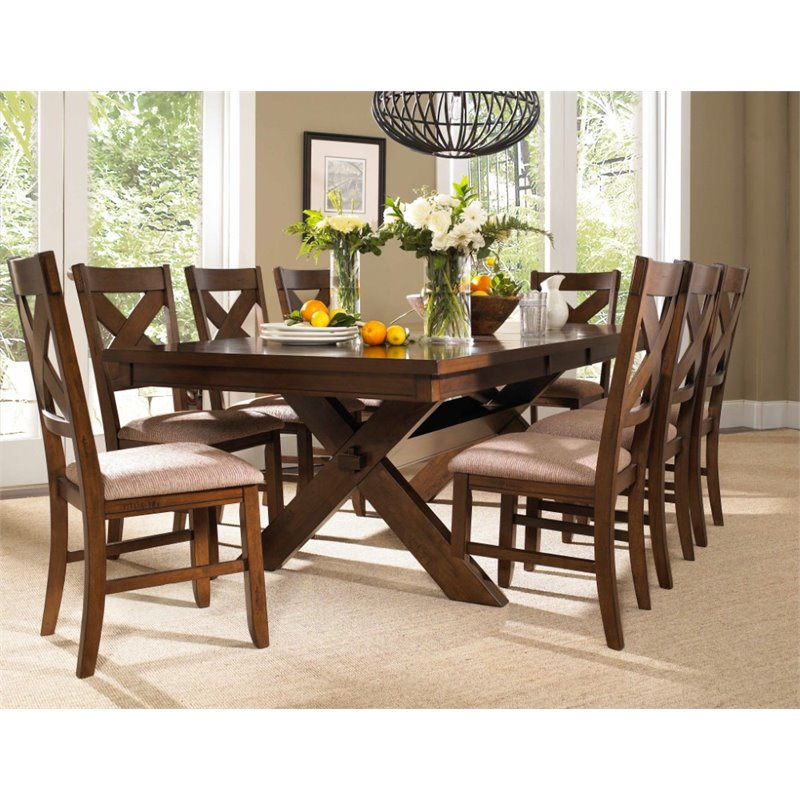 Kraven 9-Piece Wood Dining Set