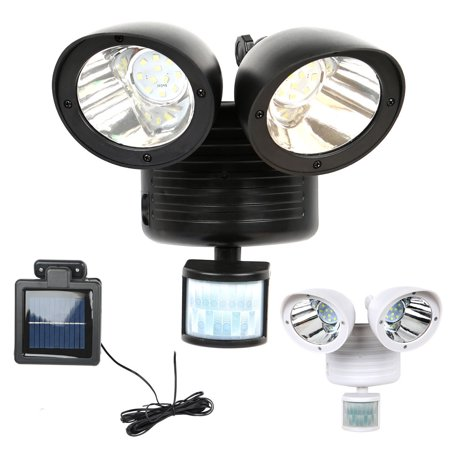 Dual 22 LED Security Detector Solar Spot Light Motion Sensor Outdoor Floodlight Motion Security Floodlight