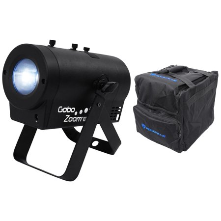 Chauvet DJ Gobo Zoom USB Compact Custom Gobo Projector Light W/10