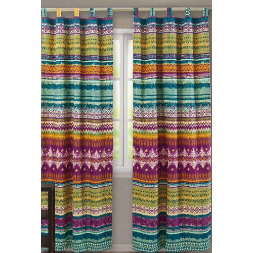 Greenland Home Fashions Southwest Window Panel Pair