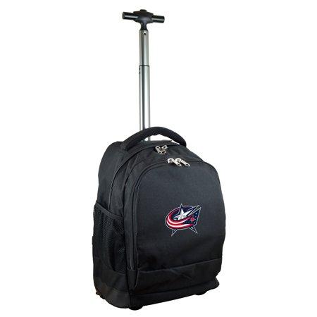 Columbus Blue Jackets 19 Premium Wheeled Backpack - Black