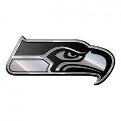 Team ProMark NFL Seattle Seahawks Premium Metal Auto Emblem - image 1 de 2