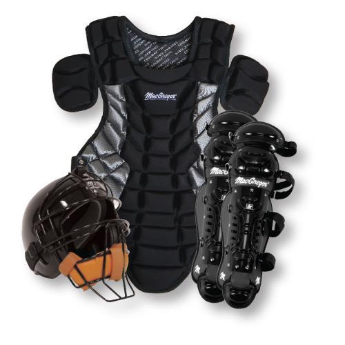 Macgregor Youth Catcher's Gear Pack-Color:Black