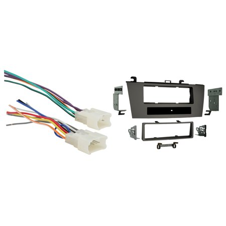 Toyota Solara (black dash) 2004-2008 Single DIN Metra Car Stereo Installation Package