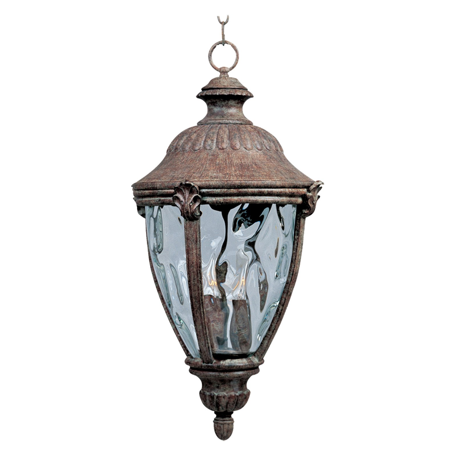 Maxim Morrow Bay DC Outdoor Hanging Lantern - 26H in. Earth Tone