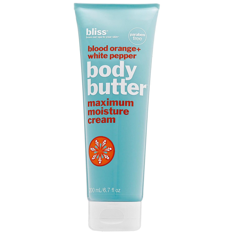 Bliss Body Butter, Blood Orange + White Pepper, 6.7 Oz