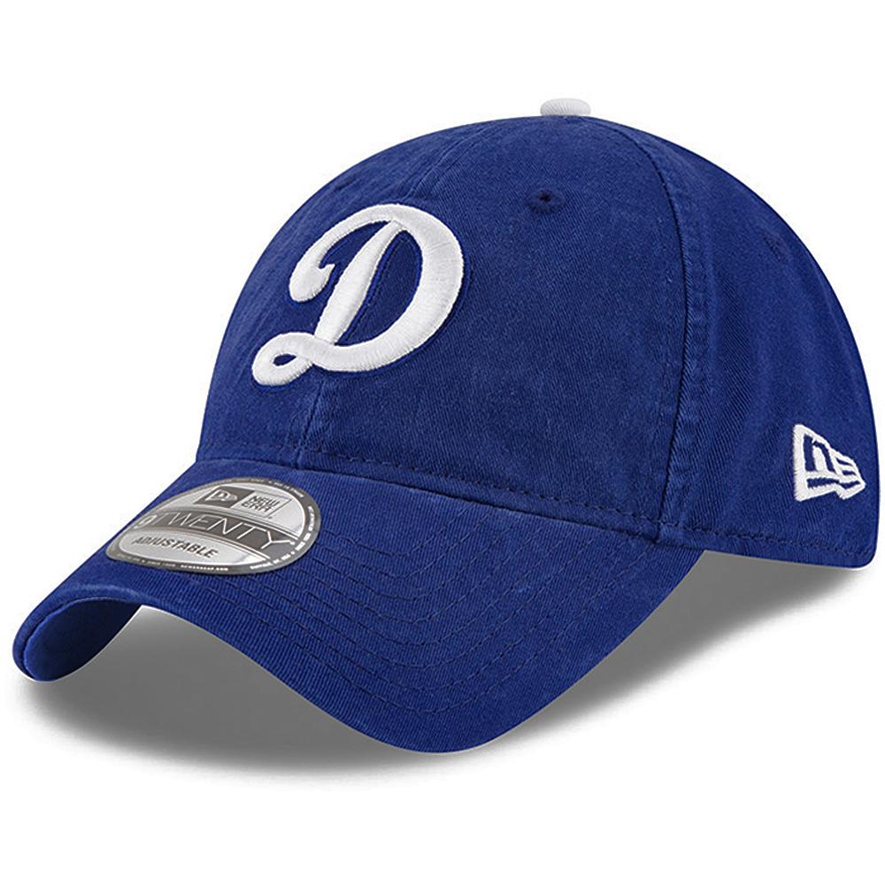 Los Angeles Dodgers New Era  Core Classic 9TWENTY Adjustable Hat - Royal - OSFA