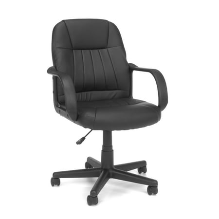 OFM Essentials Collection Executive Office Chair, in Black