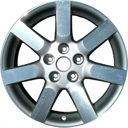 2004-2006 Nissan Maxima  17x7 Aluminum Alloy Wheel, Rim Bright Sparkle Silver Full Face Painted-62422