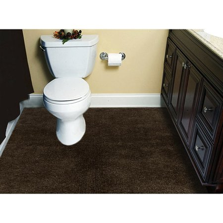 Customizable 5x6 Plush Wall To Wall Bathroom Carpeting Walmartcom