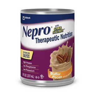 Nepro Ready To Drink Butter Pecan Institutional With Carb Steady  8 Oz Cans   Case Of 48