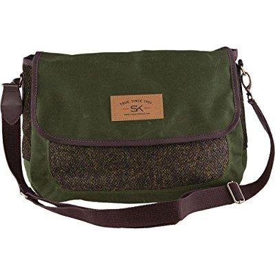 stormy kromer the companion purse in harris tweed luxmore (50920-000000-260-574)