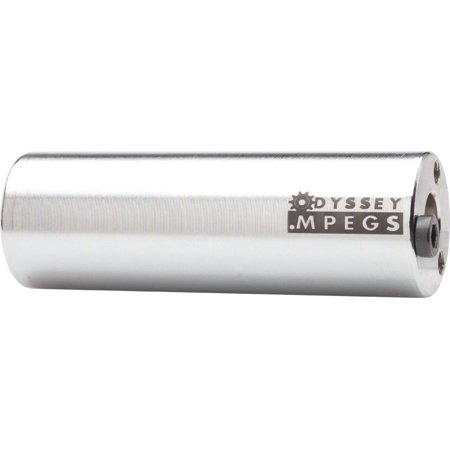 """Odyssey MPEG 14mm Silver Pegs With 3/8"""" Adaptor Sold In Pairs"""