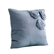 Nostalgia Home  Neveah 16-Inches Wide x 16-Inches Long Blue Decorative Throw Pillow