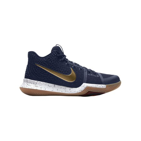 Nike Kyrie 3 Men's Basketball Shoes Irving, Kyrie Dark Obsidian/Metallic  Gold/Summit