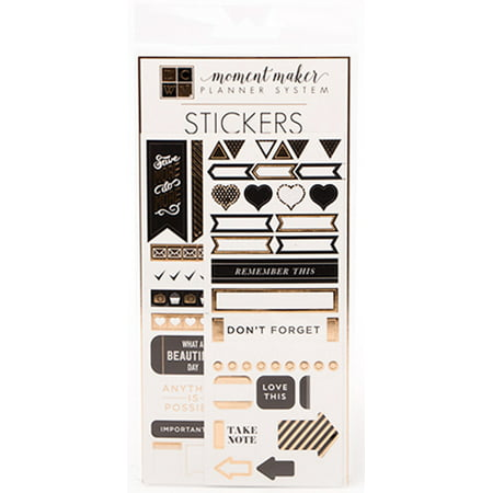 DCWV Moment Maker Planner System Stickers 3