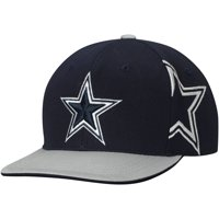 670f26eae Product Image Youth Navy Gray Dallas Cowboys Sherman Adjustable Snapback Hat  - OSFA