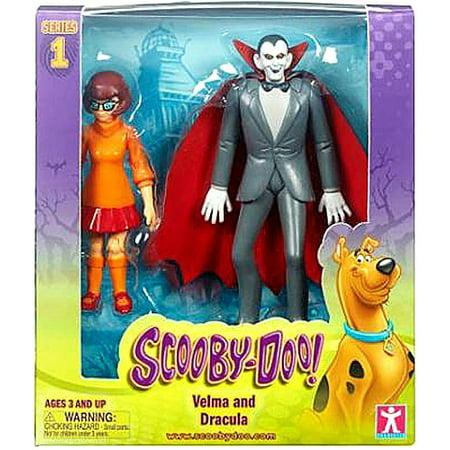 Scooby Doo Series 1 Velma & Dracula Action Figure 2-Pack](Velma Scooby)