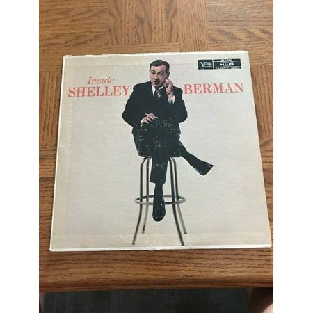 Shelley Berman - Inside Shelley Berman LP Vinyl Record Album (Inside Album)