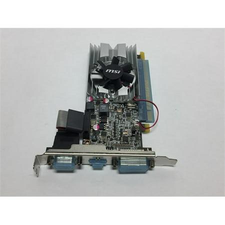 Refurbished MSI ATI Radeon HD6450 1 GB DDR3 VGA/DVI/HDMI Low Profile PCI-Express Video Card R6450-MD1GD3/LP Dvi Ati Radeon 7000