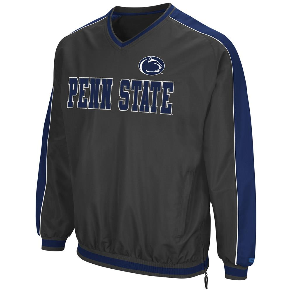 Mens Penn State Nittany Lions Attack Line Wind Breaker Jacket by Colosseum