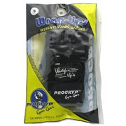Progryp Wrap-Ups Weightlifting Gloves, Black, Small