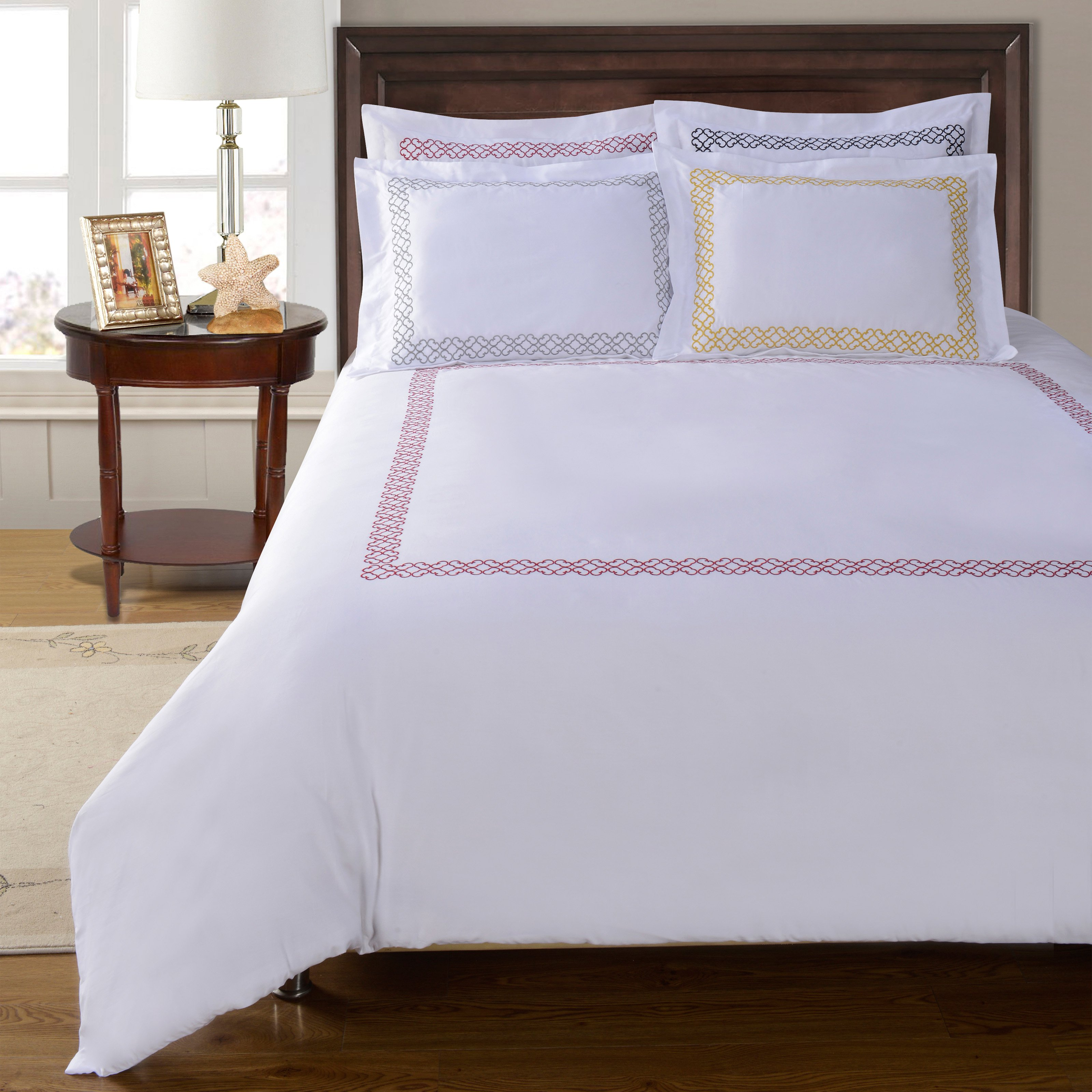 Superior Clayton 100% Cotton Duvet Cover Set