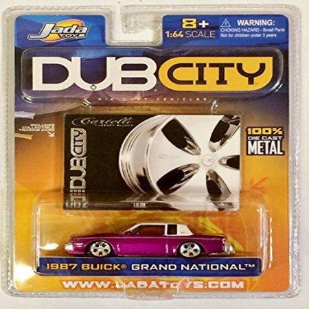 DUB City / 1987 BUICK GRAND NATIONAL w Cartelli Rims / Purple ...