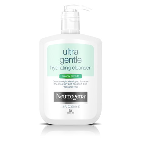 Triple Care Cleanser - Neutrogena Ultra Gentle Hydrating Creamy Facial Cleanser, 12 fl. oz