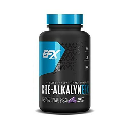 All American EFX Kre-Alkalyn pH-Correct Creatine Capsules, 240 Ct (Kre Alkalyn Creatine Powder)