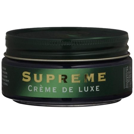 Shoe Polish 1909 Supreme Creme De Luxe 100 ml (Blue), Natural waxes and oils protect and pamper smooth and high gloss leathers. By (Best Way To Protect Leather Shoes)
