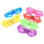 LED Light Up Toy Party Favors LED Glasses Decorative Assorted Light up Glasses 12 Pack Assorted Colors